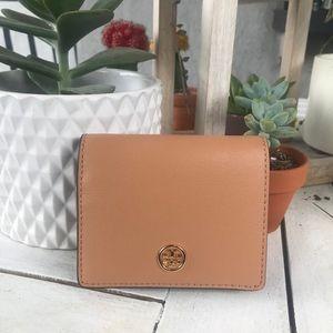 BRAND NEW! Tory Burch Parker Foldable Mini Wallet